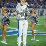 Nashville recording artist, Tegan Marie, opens Lions vs. Bears game with National Anthem