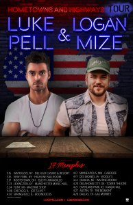 "Logan Mize and Luke Pell announce ""Hometowns And Highways Tour"""
