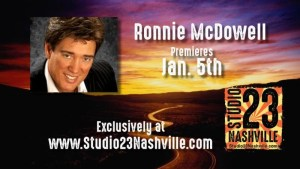 Ronnie McDowell on Studio 23 Nashville