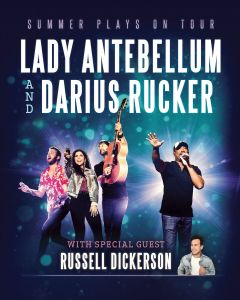 "Darius Rucker and Lady Antebellum set spirited ""Summer Plays On Tour"" for 2018"