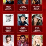 Chris Janson, Craig Morgan, Trace Adkins, Dustin Lynch & more head to Grand Ole Opry in February