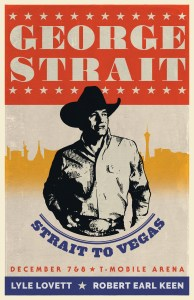 George Strait announces final two shows of 2018 December 7-8 at T-Mobile Arena in Las Vegas