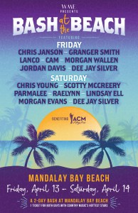 Lineup announced for WME's second annual Bash at the Beach, Mandalay Bay Resort and Casino, Las Vegas