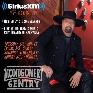 Tune In!  Montgomery Gentry perform live on SiriusXM's Y2KOUNTRY Channel