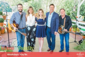 "Macy Martin performed new single, ""Take It Now"" on Hallmark channel's ""Home & Family"""