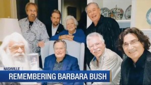 The Oak Ridge Boys pay respects to former First Lady Barbara Bush