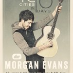 Morgan Evans announces 10 In 10 Tour