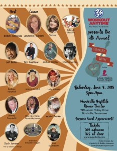 Country With Heart benefit celebrates 4th Annual St. Jude donation