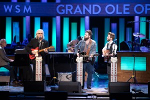 The Swon Brothers perform with Ricky Skaggs