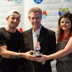 Inaugural Cracker Barrel Country Legend Award presented to Randy Travis during final night at the Country Roads Stage at 2018 CMA Music Festival
