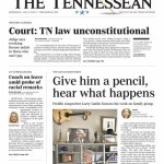"""Front page Tennessean story highlights """"Prolific"""" songwriting career of Larry Gatlin"""