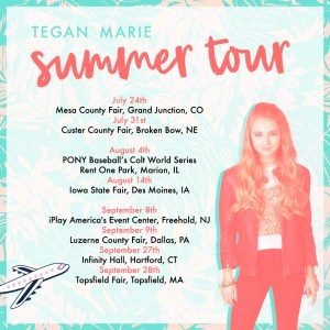 Tegan Marie steps up with Summer 2018 tour dates