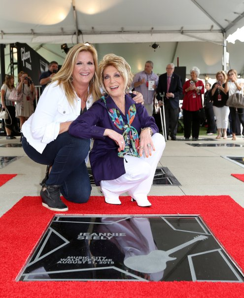 """Miss Country Soul,"""" Jeannie Seely recieves Star on Music"""