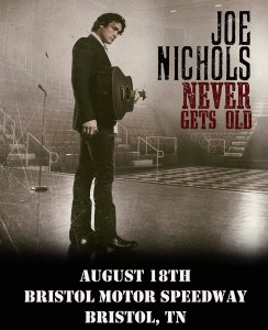 Joe Nichols and Lee Greenwood part of NASCAR weekend at Bristol Motor Speedway