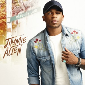 Jimmie Allen debut album, Mercury Lane, set to release Oct. 12