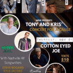 Cotton Eyed Joe welcomes Carly Pearce, Uncle Kracker, Michael Ray, Lindsay Ell & Cody Johnson with Jacob Bryant in November