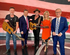 "ICYMI:  Jerrod Niemann waves ""Old Glory"" on Fox & Friends, The Daily Briefing for Veterans Day"