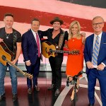 """ICYMI:  Jerrod Niemann waves """"Old Glory"""" on Fox & Friends, The Daily Briefing for Veterans Day"""