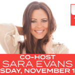 "TUNE IN ALERT: Sara Evans to guest cohost on ""The Talk"" (CBS, Nov. 13)"