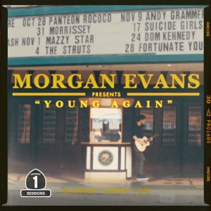 "Watch Now:  Morgan Evans kicks off Highway Sessions viceo series with ""Young Again"""