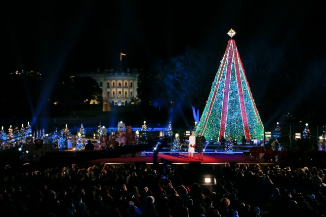 The 96th annual National Christmas Tree Lighting