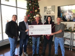 Tracy Lawrence's MISSION: POSSIBLE reaches national milestone – eclipses more than $500,000 for the homeless