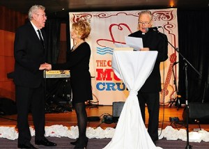 51 Year Grand Ole Opry Member, Jeannie Seely, renews wedding vows with Gene Ward aboard The Country Music Cruise