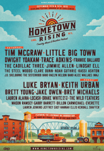 Trace Adkins, Dillon Carmichael and The Sisterhood Band added to Hometown Rising Music Lineup