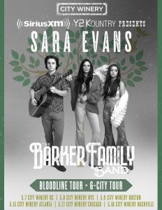 Sara Evans surprises fans with The Barker Family Band side project