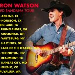 "Aaron Watson launches ""The Red Bandana Tour"" in conjunction with release of new album"
