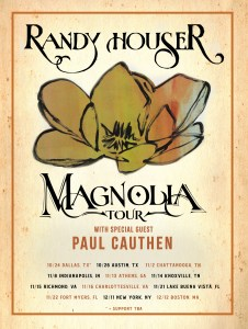 Randy Houser to set out on fall Magnolia Tour