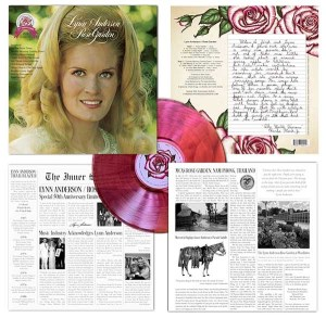 Lynn Anderson 'Rose Garden' 50th Anniversary Deluxe Collector's Edition Vinyl available