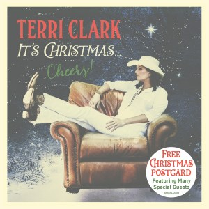 Country music icon Terri Clark announces new album, It's Christmas…Cheers!