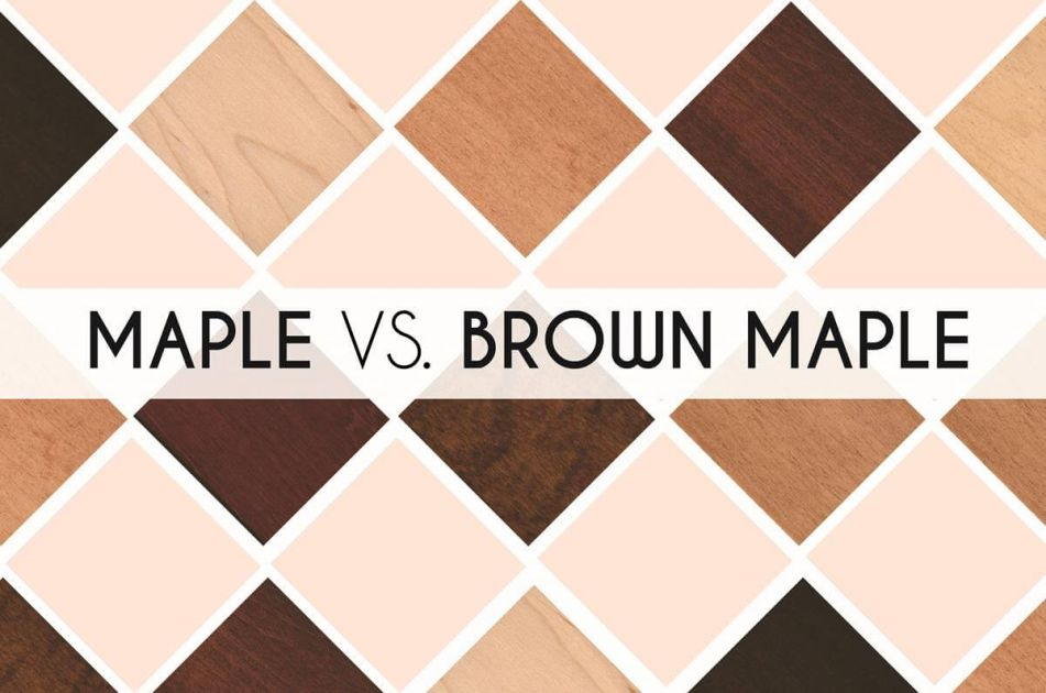 Differences Between Maple And Brown Maple Amish Furniture