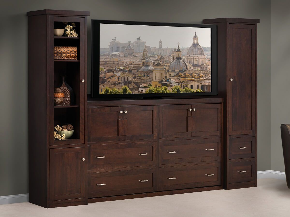 Park Central Murphy Wall Bed Countryside Amish Furniture