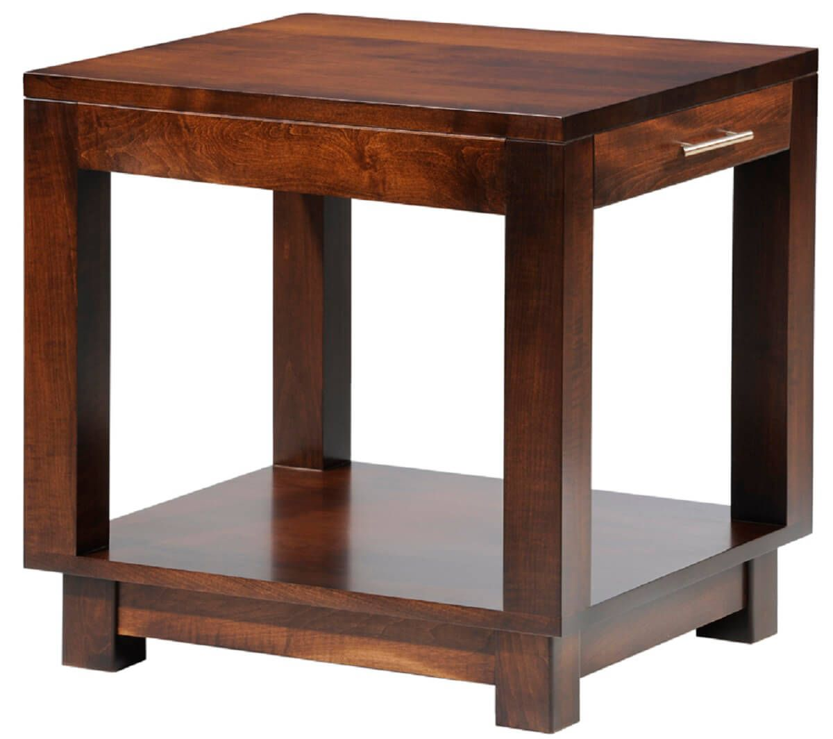 Cartier End Table With Drawer Countryside Amish Furniture