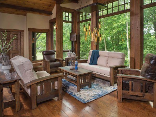 El Dorado Reclaimed Living Room Set - Countryside Amish ...
