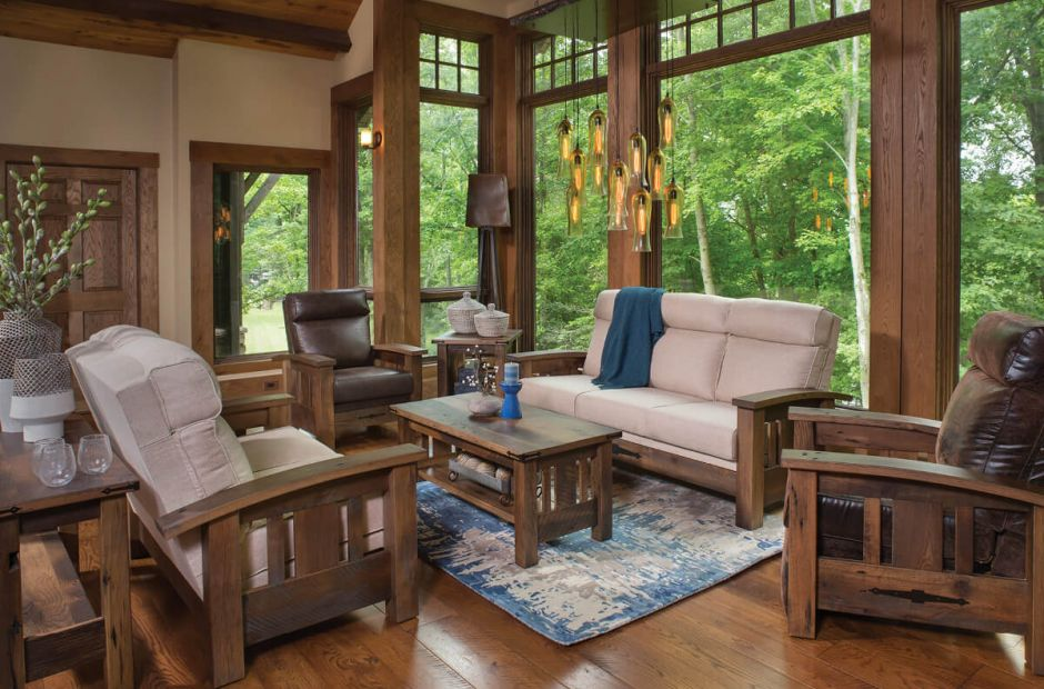 Distinguish the facts from the myth of el dorado, the lost city of gold that inspired countless european explorers. El Dorado Reclaimed Living Room Set - Countryside Amish ...