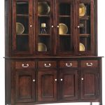 South Hooksett Large China Cabinet Countryside Amish Furniture
