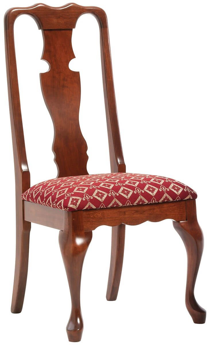 Queen Victoria Cherry Dining Chair Countryside Amish