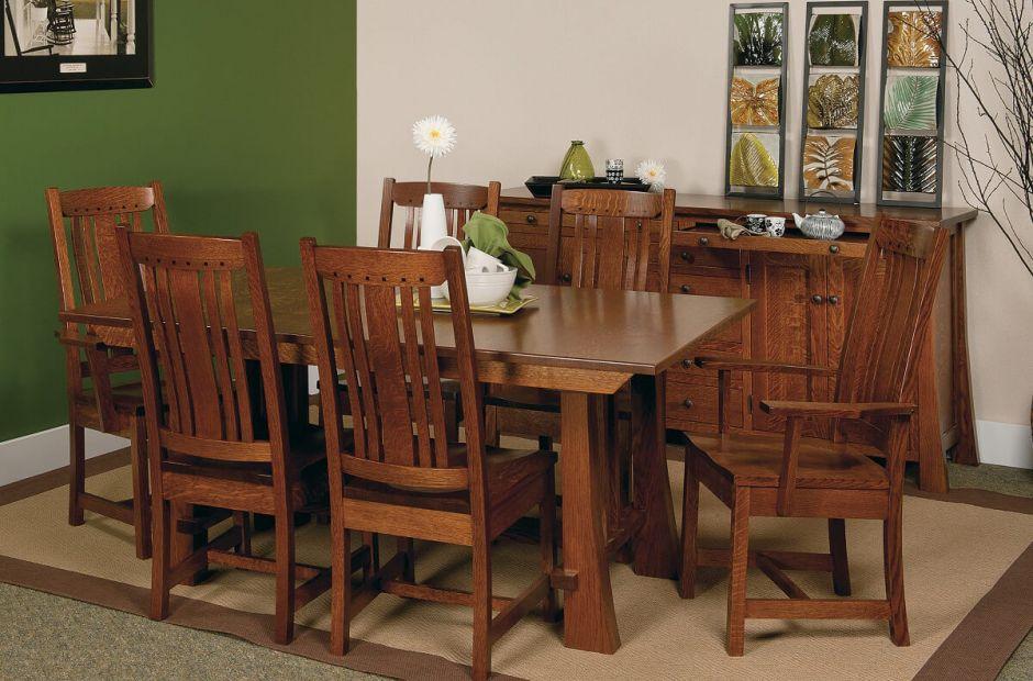 Harding Craftsman Style Dining Set Countryside Amish