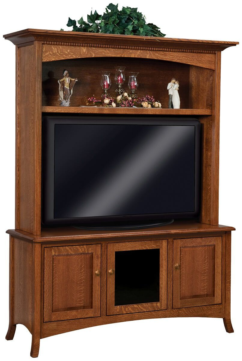 Plymouth Entertainment Center With Hutch Countryside