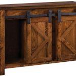 Calaveras Rustic Barn Door Buffet Countryside Amish Furniture