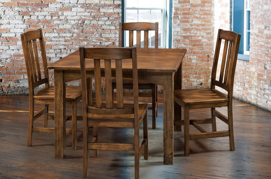 Ottawa River Table And Chairs Set Countryside Amish Furniture