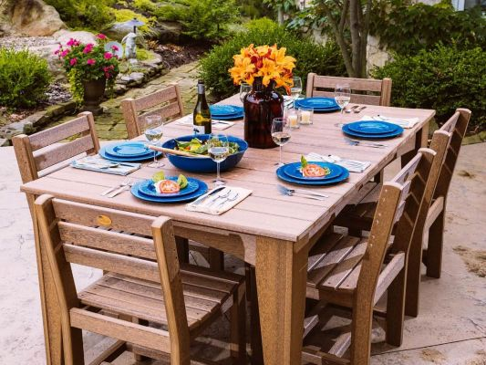 new guinea large outdoor table