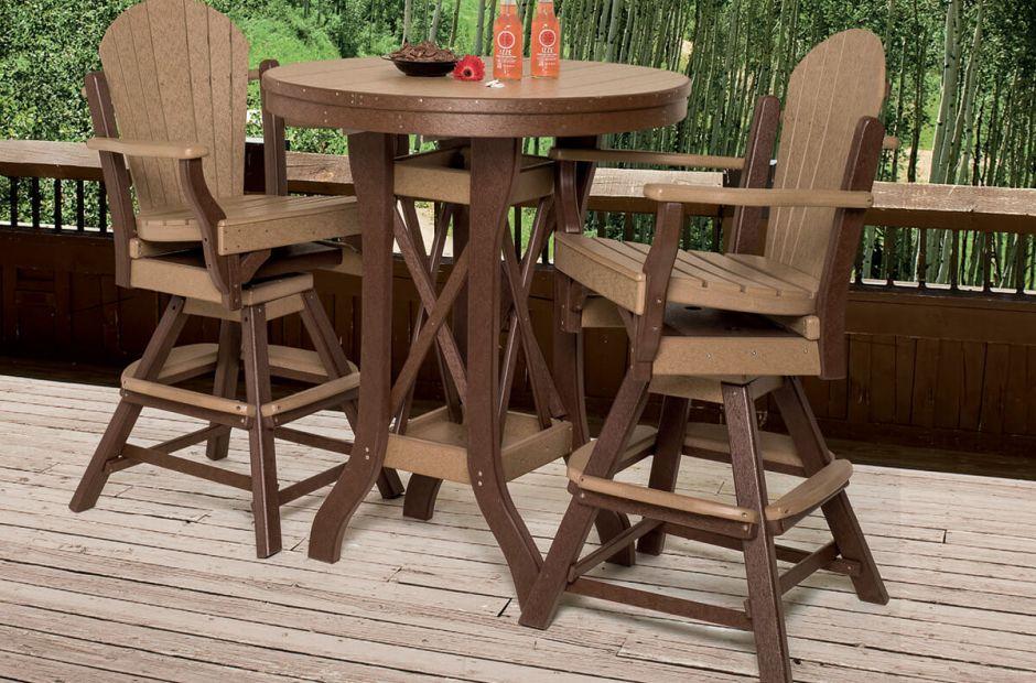 maui outdoor bistro furniture set