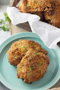 Crispy Oven Quot Fried Quot Chicken Thighs Countryside Cravings