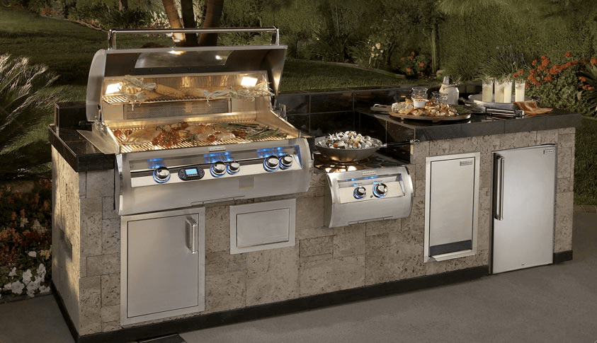 Outdoor Grill Islands - Outdoor Kitchens - Cleveland, Ohio on Backyard Patio Grill Island id=98982