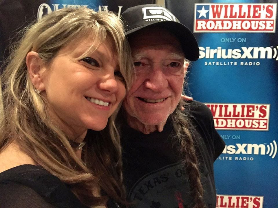 Paula Nelson and Willie Nelson