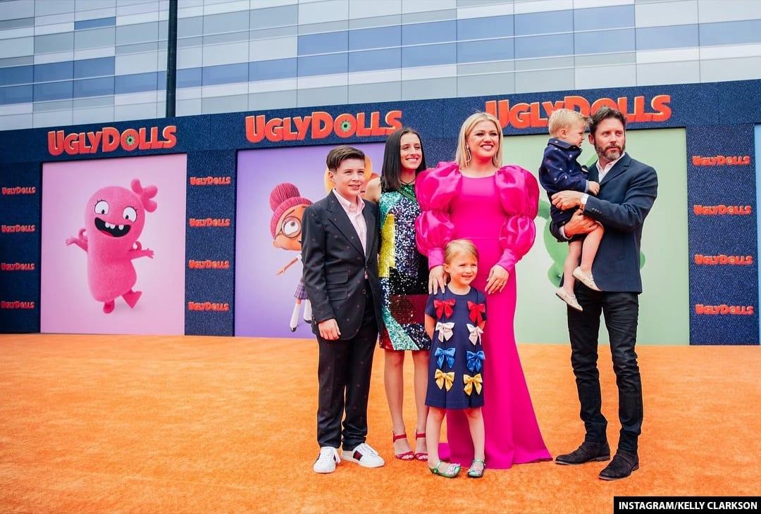 Brandon Blackstock and Kelly Clarkson Children
